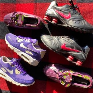 Nike Air Max Shox Sperry Sneaker Lot all size 7